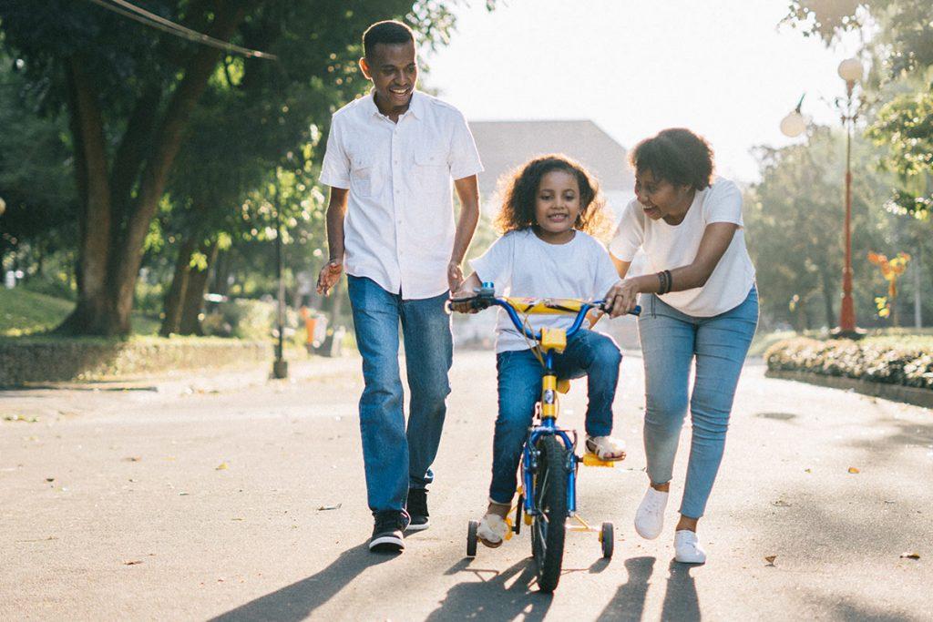 family bike time